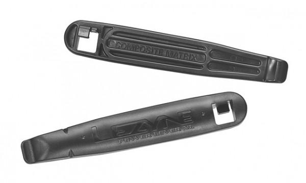 Reifenheber Power Lever XL mit Speichenhaken - schwarz