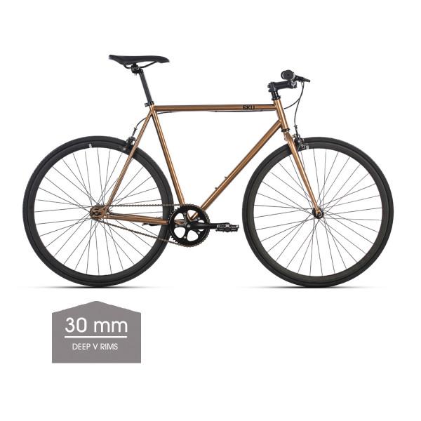 Dallas Singlespeed/Fixed Bike - 30 mm Deep V Felgen