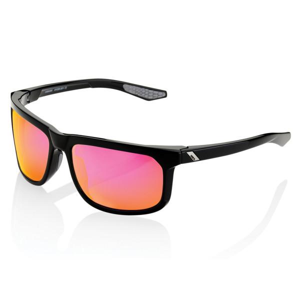 Hakan Brille gespiegelt - Schwarz