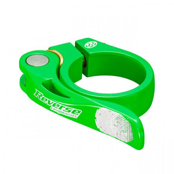 Long Life Sattelklemme 34,9mm - neon green