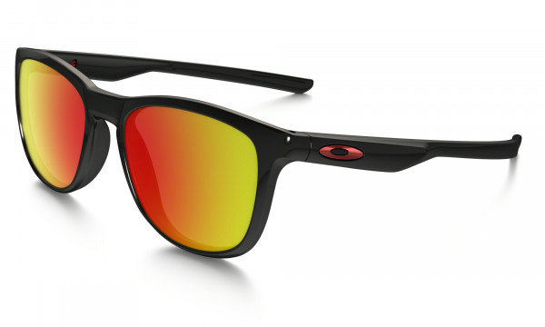 Trillbe X Polarized Sonnenbrille - Black - Ruby Iridium