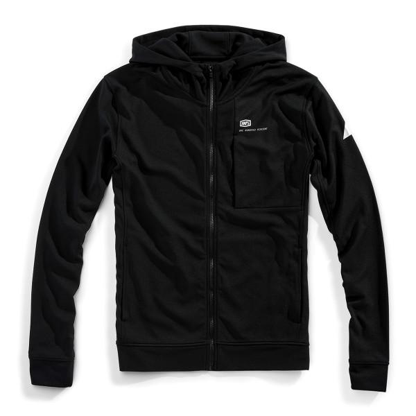 Regent Full-Zip hooded tech fleece - Schwarz