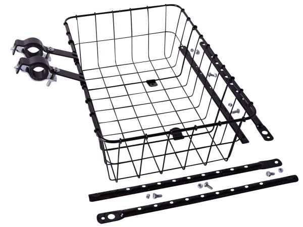 1372 Medium Korb für Vorderradmontage - schwarz