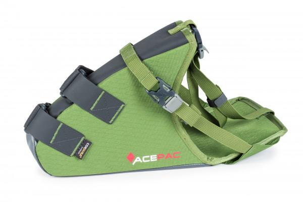 Saddle Grab - Satteltasche/Halterung - green