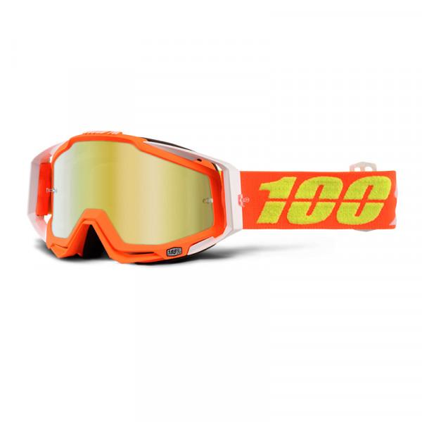 Racecraft Goggle Anti Fog Mirror Lens - Razmataz