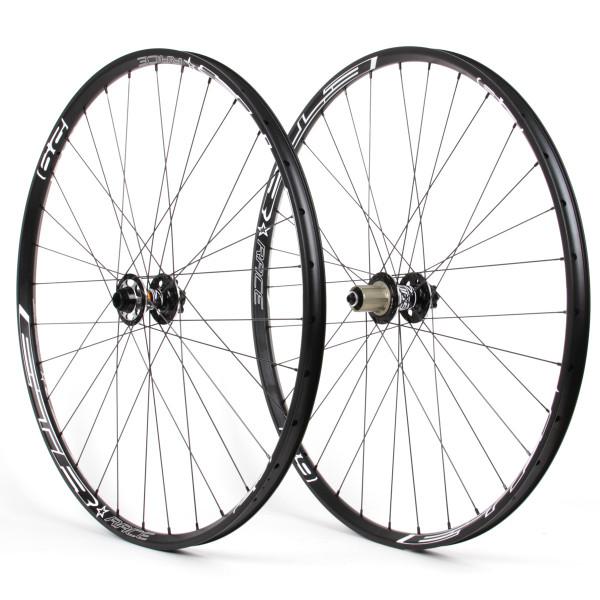 Laufradsatz 29er - 303X Nabe schwarz - ETR Race Felge schwarz