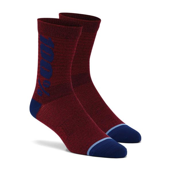Rythym Socken - Rot/Blau