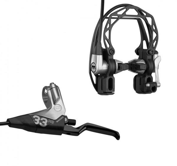 HS 33 hydraulische Felgenbremse - schwarz