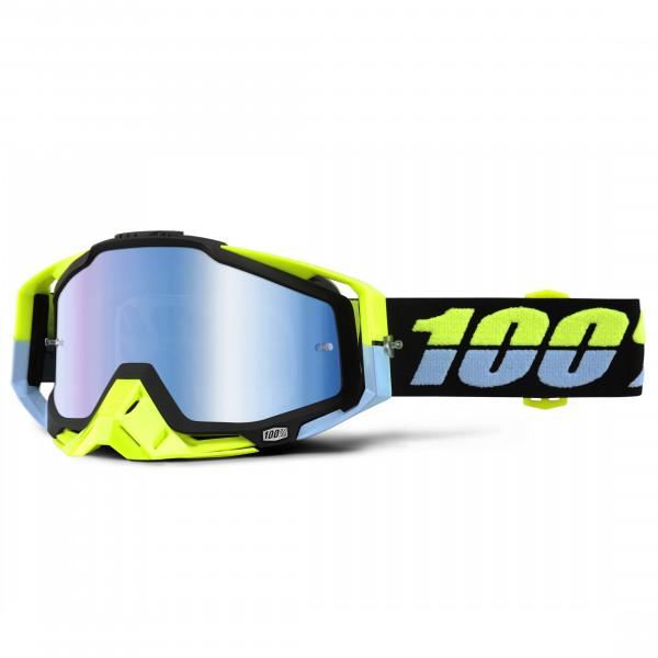 Racecraft Premium MX Goggle - Antigua Mirror Lens