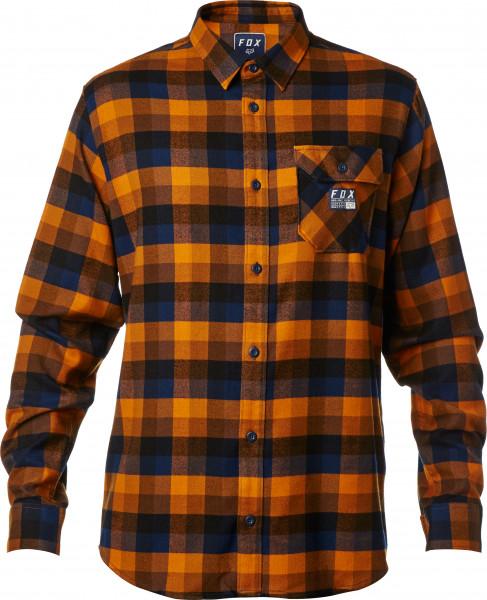 Rovar Flannelhemd - Orange