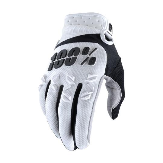 Airmatic Handschuh - White/Black