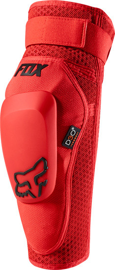 Launch Pro D3O Elbow Guards - red