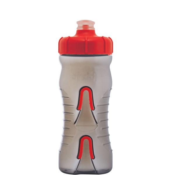 Cageless Trinkflasche - 600 ml - Smoke/Rot