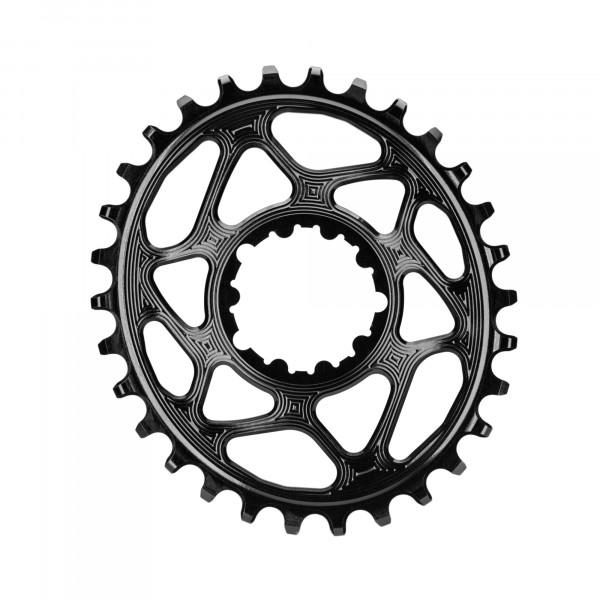 SRAM GXP Direct Mount Kettenblatt - Oval - 6 mm Offset - schwarz