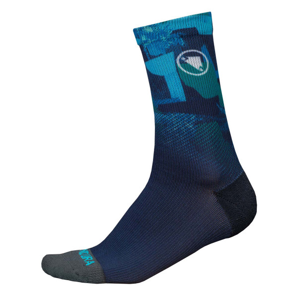 SingleTrack Socken ll Limited - Marineblau