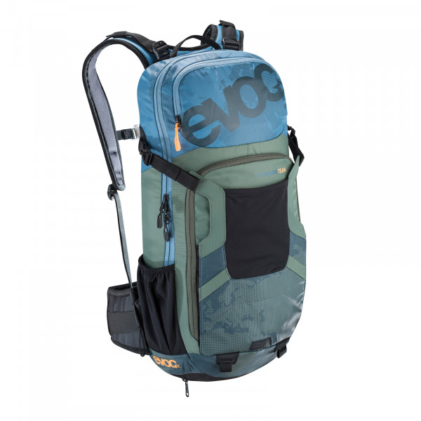 FR Enduro Team 16l Protektor-Rucksack - copen blue/olive/slate