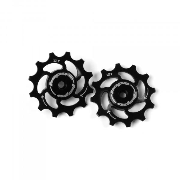 Jockey Wheels Schaltrollen - 12Z - schwarz