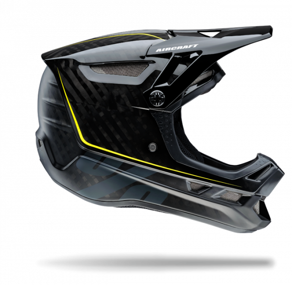 Aircraft Mips Fullface Helm - Raw Black