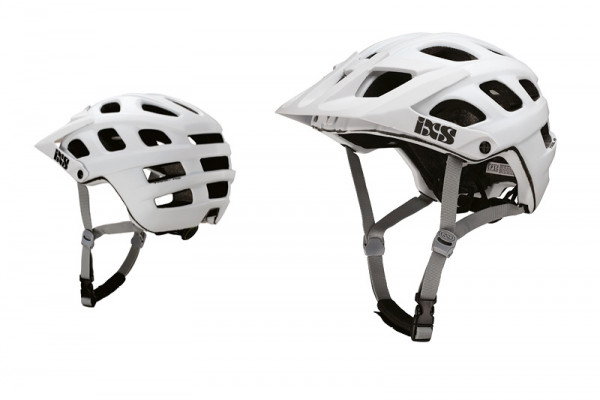 Trail RS EVO Helm - white