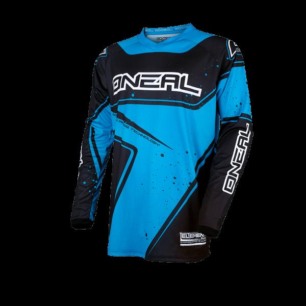Element Jersey Racewear - black/blue - 2017