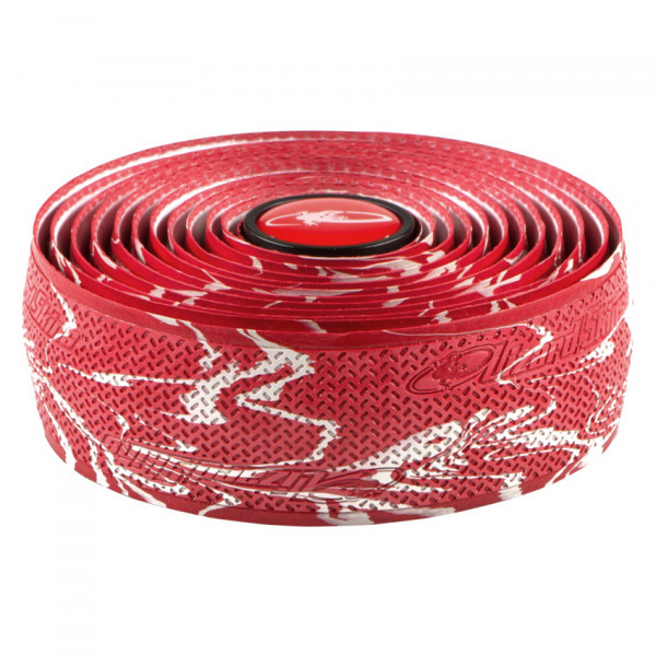 DSP DuraSoft Polymer Lenkerband - 2,5mm - Rot Camouflage