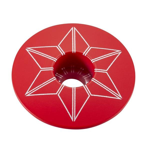 Star Cap Aheadkappe - Neon Rot