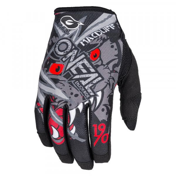 Mayhem MacDuff Signature Glove Handschuh - gray/red - 2018