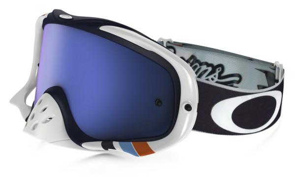 Crowbar MX Goggle - Troy Lee Designs - Corse White - Ice Iridium