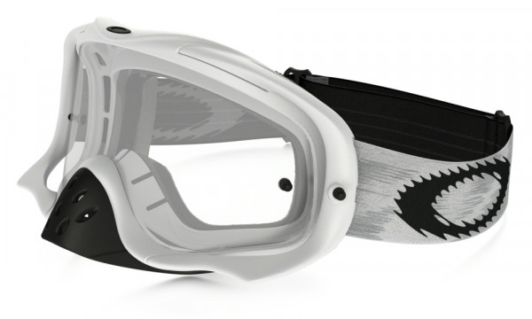 Crowbar MX Goggle - Matte White Speed/Clear