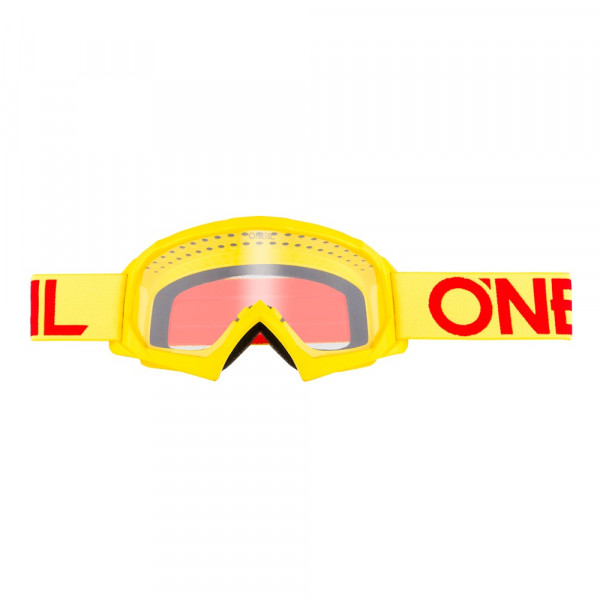 B10 Solid Goggle - Youth - yellow - Glass clear