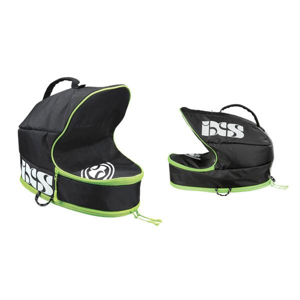 Transporttasche für Fullface Helme - Schwarz/Grün