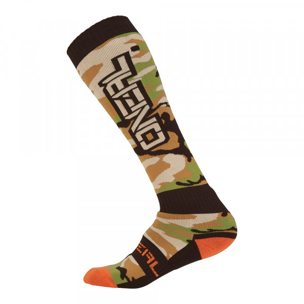 Pro MX Socks - Woods Camo - black/green