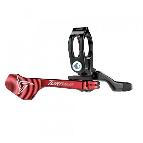 Hop-Up Remote Hebel für Race Face Turbine Vario Sattelstütze - red