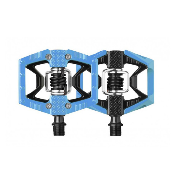 Double Shot Limited Edition Klickpedal - blau