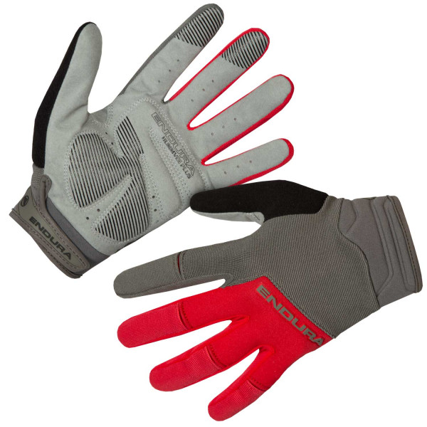 Hummvee Plus Handschuh II - rot