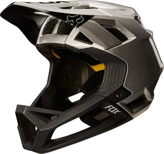 Proframe Moth Helm - Black/Silver