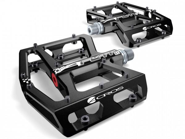 A-Flat XL Plattformpedal - schwarz