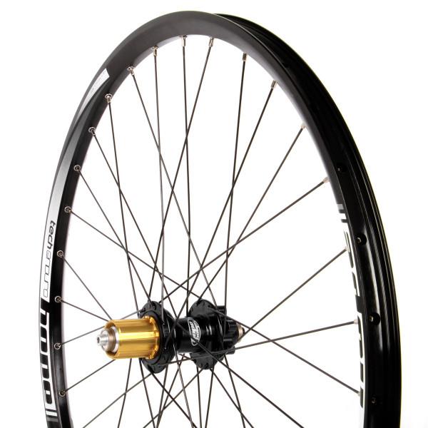 Tech Enduro Hinterrad 32 Loch Pro 4 - 27,5 Zoll schwarz