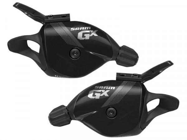 GX 2x11 Trigger-Set Schalthebel schwarz