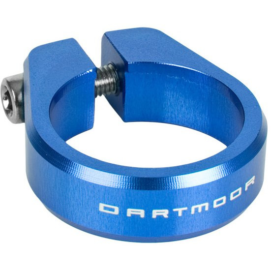 Ring Sattelstützenklemme - blau