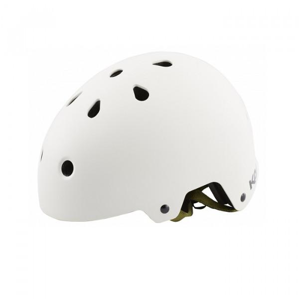 Maha Solid Dirt/BMX Helm - Weiß