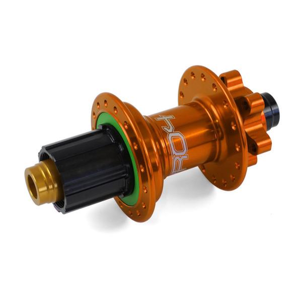 Pro 4 Hinterradnabe orange 32 Loch - Hope Kassette