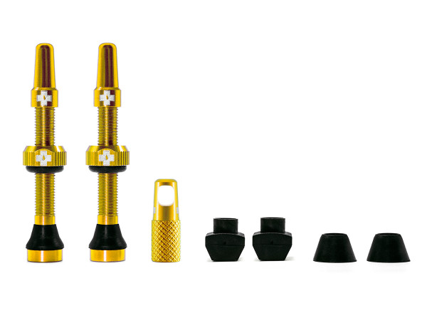Ventile für Tubeless Reifen - Gold - Mtb & Road