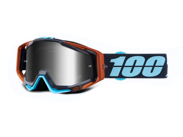 Racecraft Goggle Anti Fog Clear Lens - Ergono