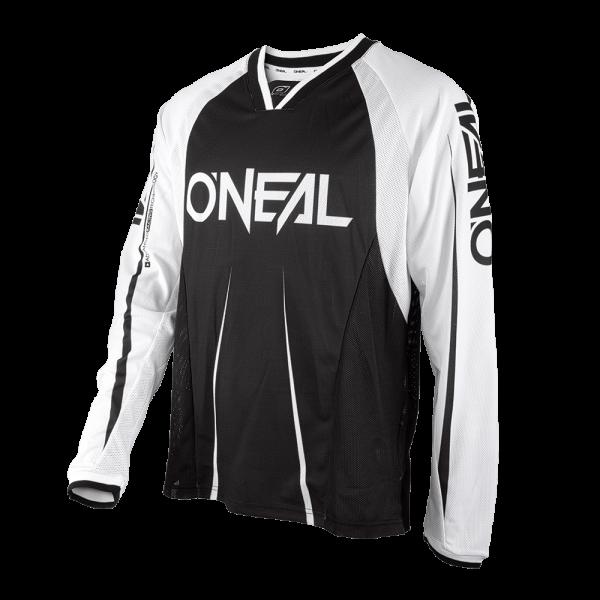Element FR Blocker Long Sleeve Jersey - black/white