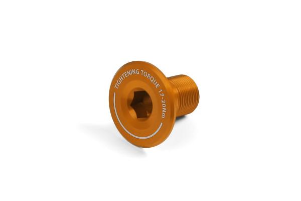 Kurbel-Endschraube - orange