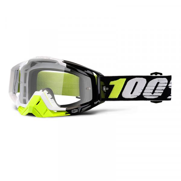 Racecraft Goggle Anti Fog Clear Lens - Emrata