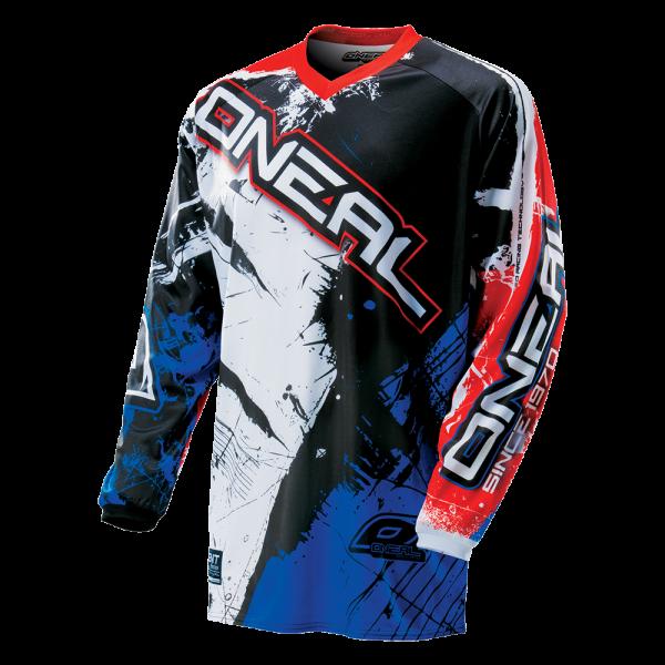 Element Jersey Shocker Black/Blue/Red