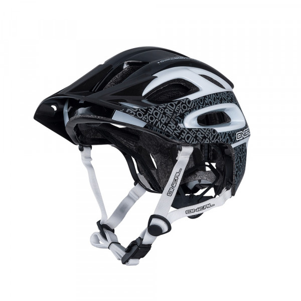 Orbiter II All Mountain/Enduro/Trail Helm - black/white