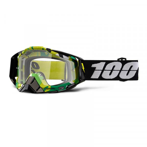 Racecraft Goggle Anti Fog Clear Lens - Bootcamp